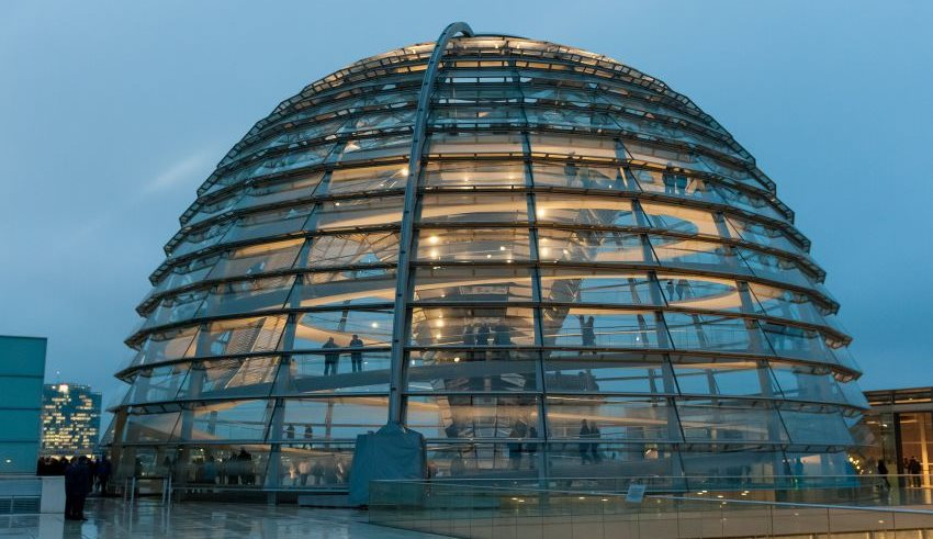 Kuppel des Reichstags